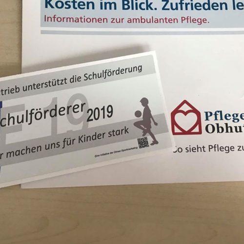 Unterstützer des Sportprogramms der Hermann-Hesse-Schule. Jugend muss Zukunft haben.