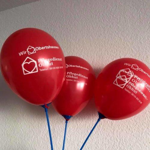 Wir lieben Luftballons.