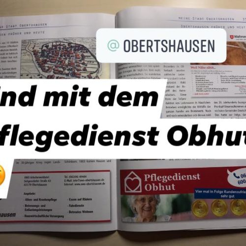 Meine Stadt Obertshausen Broschüre